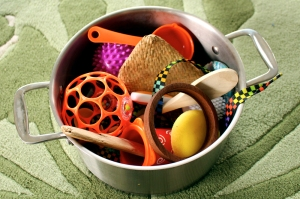 treasure basket, baby play,