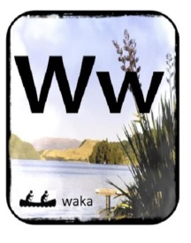 Maori Alphabet toi toi SNIP 2