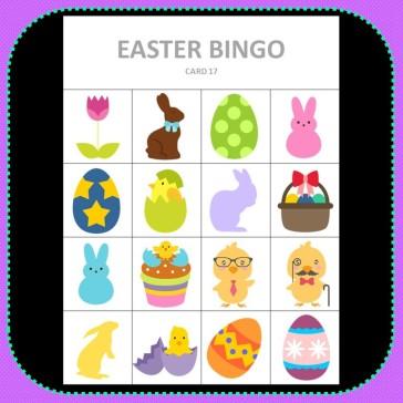 Bingo Easter