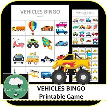 bingo vehicles