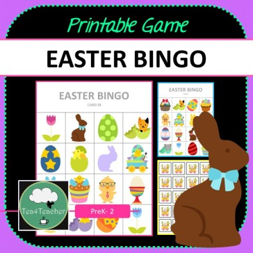 Easter Bingo Game COVER