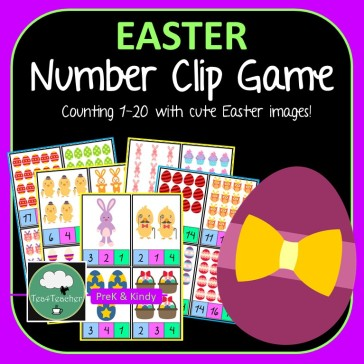 Easter Number Clip COVER