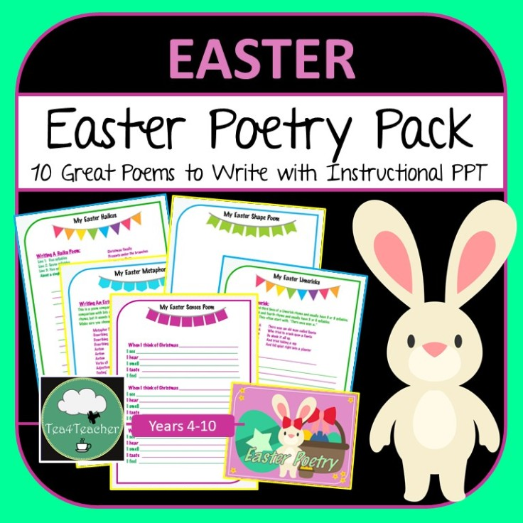 Easter Poetry Pack COVER