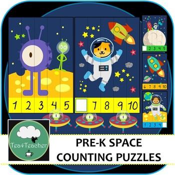 Space puzzles PreK