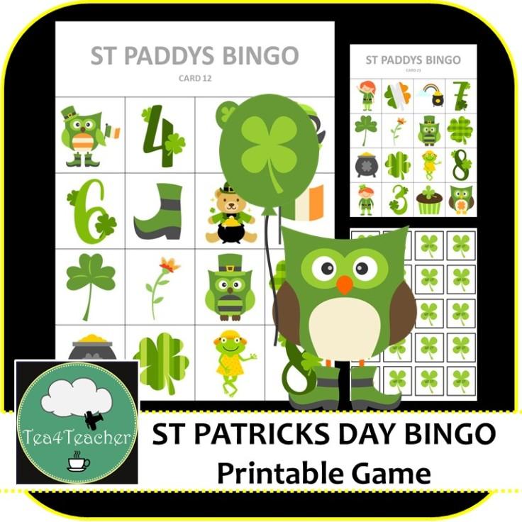 St Patricks Day Bingo Cover