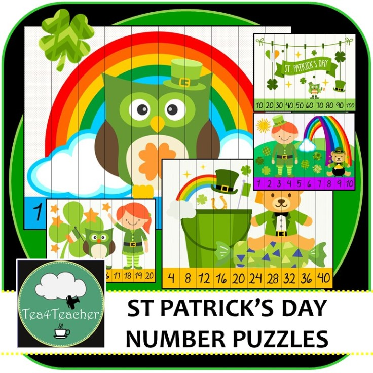 St Patricks Day Puzzles Cover