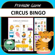Circus Bingo Game COVER