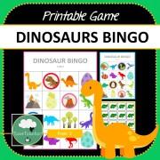 Dinosaur Bingo COVER