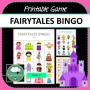 Fairytales Bingo COVER