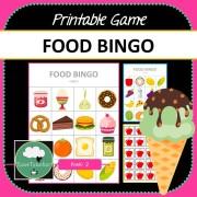 Food Bingo COVER