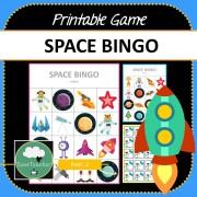 Space Bingo COVER