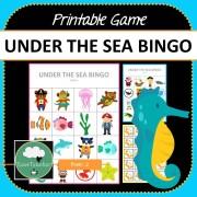 Under the Sea Bingo COVER